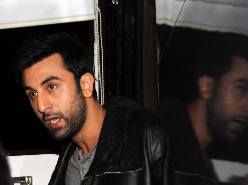 Ranbir Kapoor attends a promotional event for Tamasha. (AFP)