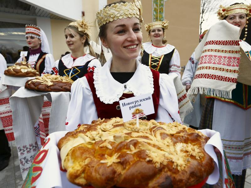Dozhynki is hosted by different towns across Belarus. The town of Dyatlovo is hosting it this time. (REUTERS)
