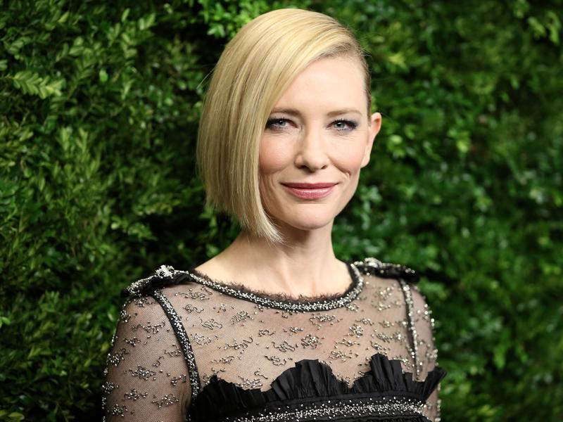 Cate Blanchett attends the Museum of Modern Art's 8th Annual Film Benefit honouring her in New York City.  (AFP)