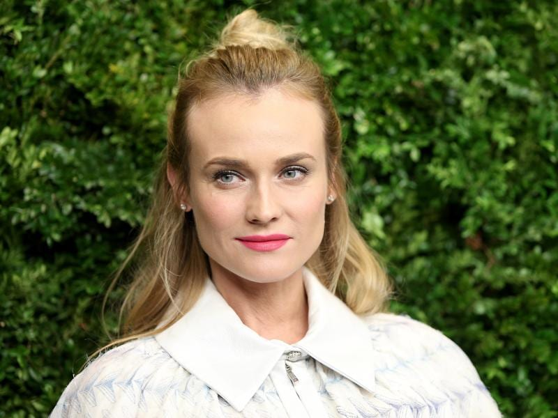 Diane Kruger attends the Museum of Modern Art's 8th Annual Film Benefit in New York City.  (AFP)