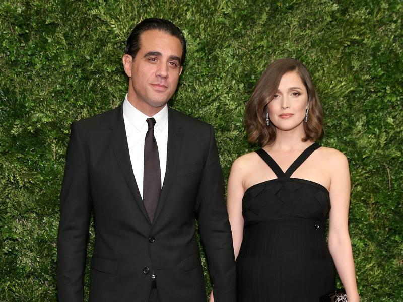 Actors Bobby Cannavale (L) and Rose Byrne attend the Museum of Modern Art's 8th Annual Film Benefit honouring Cate Blanchett at the Museum of Modern Art. (AFP)