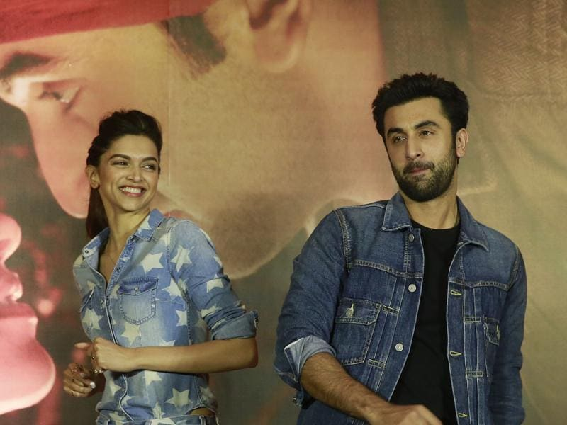 Ranbir Kapoor and Deepika Padukone also shook a leg during the promotional event for Tamasha. (AP)