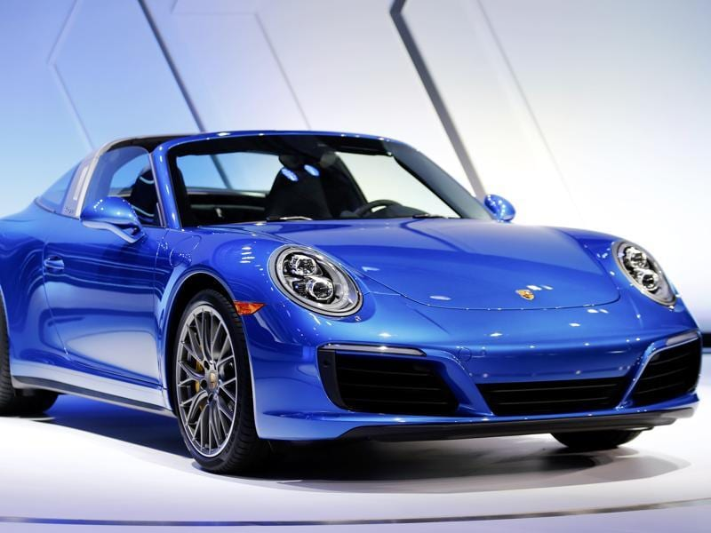 The new Porsche 911 Targa 4s is introduced during the Los Angeles Auto Show in Los Angeles, California November 18, 2015. REUTERS/Mike Blake (REUTERS)
