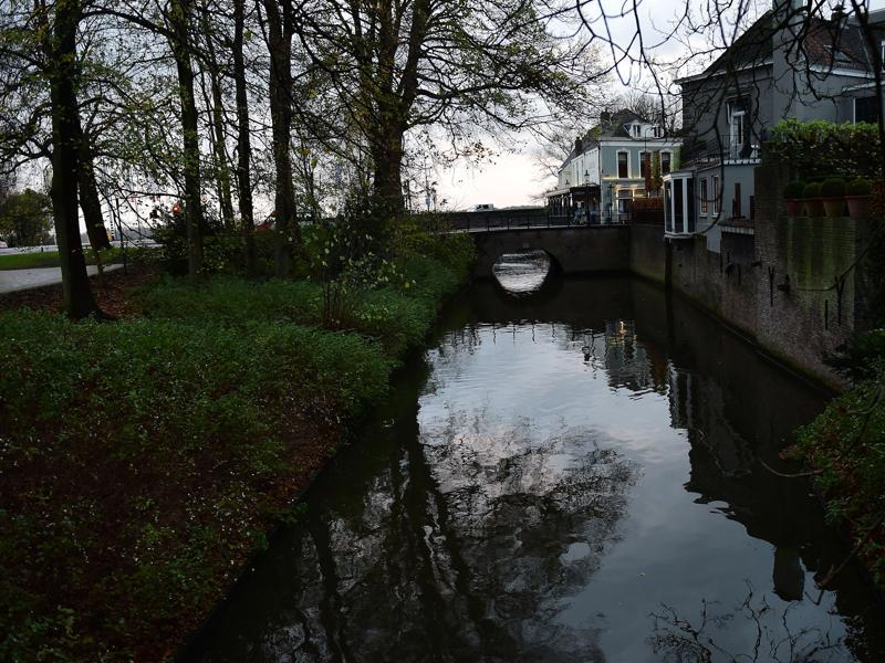 Bosch is often known for his highly individualistic style of painting with insights into man's desires and fears. A view of the canal in s'Hertgonbosch, The Netherlands, on November 16, 2015.   (AFP)