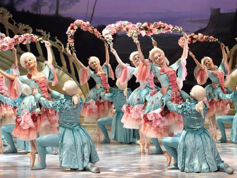The company gives approximately 200 performances across the country every year -- from Petipa to punk, Balanchine to Bangarra.  (AFP)