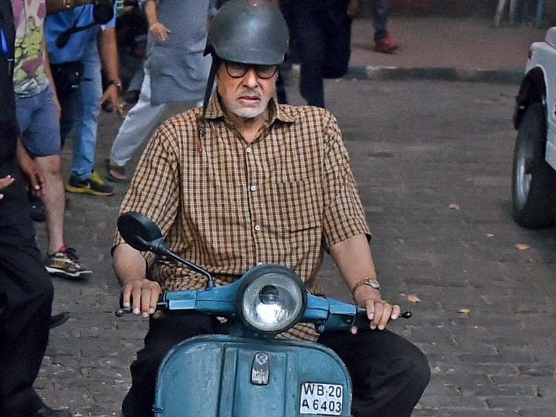 Another scooter sequence from the film Te3n.  (PTI)
