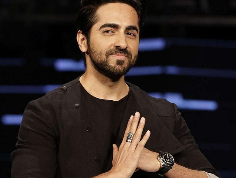 Ayushmann Khurrana's ring and watch fetched everyone's attention. (AFP)