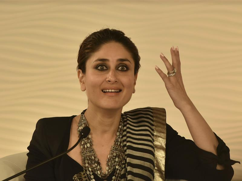 Kareena Kapoor Khan talked about her school and what shaped her personality in her formative years. (Photo by Ravi Choudhary/ Hindustan Times)