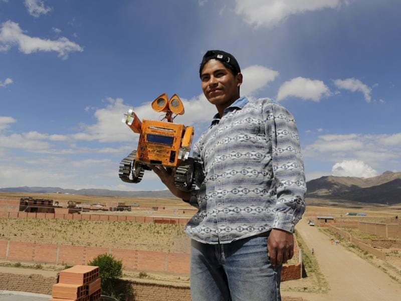 He hopes to mechanize agriculture in Patacamaya by making use of robots that operate on solar energy, Quispe told Reuters. (REUTERS)