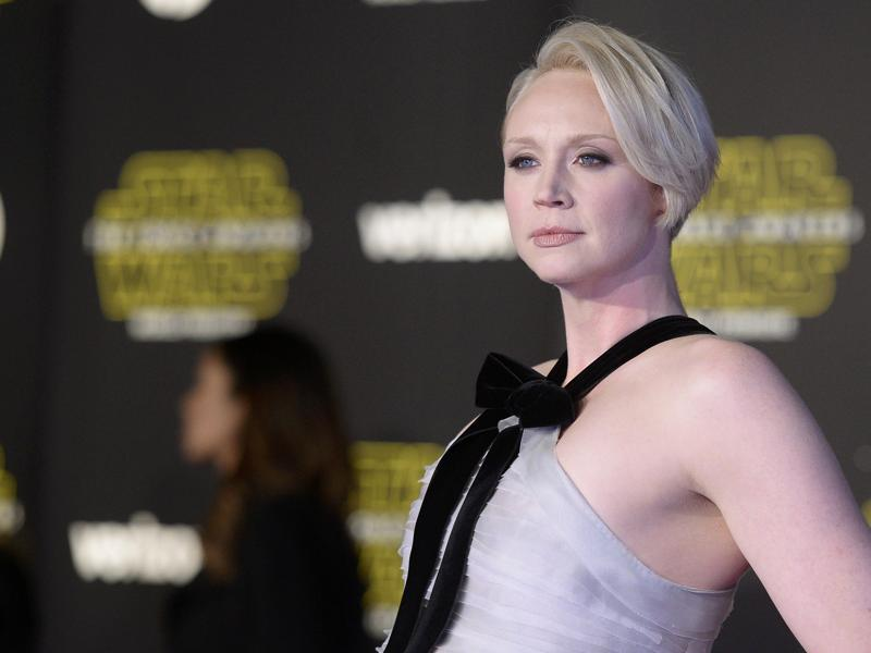 Game of Thrones actor Gwendoline Christie arrives at the premiere of Star Wars: The Force Awakens in Hollywood, California. (REUTERS)