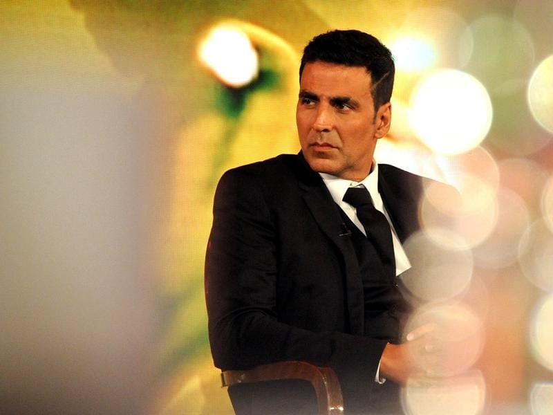 Akshay Kumar at an event to launch 'Cultivating Hope' in Mumbai on December 15, 2015.  (AFP)