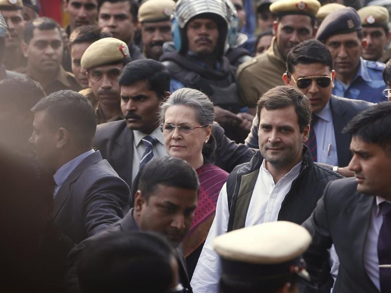 Both Sonia Gandhi and Rahul Gandhi are facing charges of misusing funds from a newspaper once run by their family. (REUTERS)
