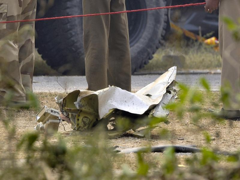 The BSF air wing has a fleet of four fixed wing aircraft - one Embraer, two Avros and the crashed Superking (SKA B-200). (Vipin Kumar/Hindustan Times)
