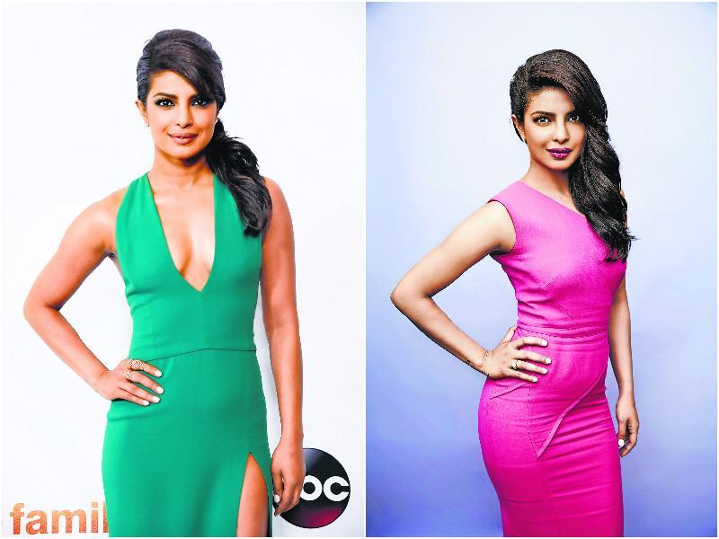 Priyanka Chopra largely kept it understated and simple this year by sporting minimalistic solid-coloured dresses on multiple occasions. From green to blue, the actor rocked each one of them with ease.  (AgenCies)