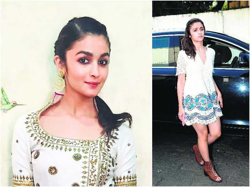 Alia Bhatt took cute to a new level by opting for braids for several of her outings. She experimented with the international hairstyle trend with both Indian and western wear.