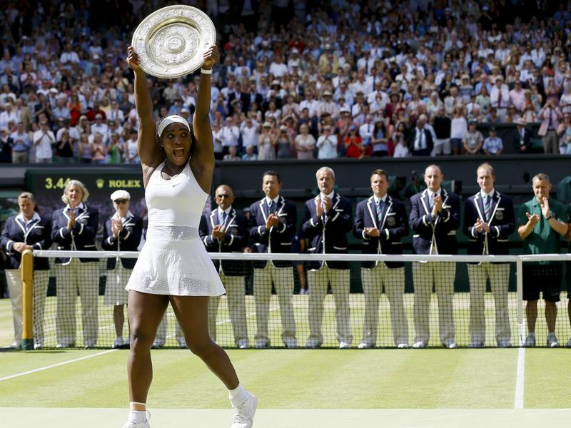 Serena makes her bid for greatest ever: Despite her US Open loss to Roberta Vinci, Serena Willliams won three Grand Slams and is now just one Major short of Steffi Graf's Open Era record of 22. (AP Photo)