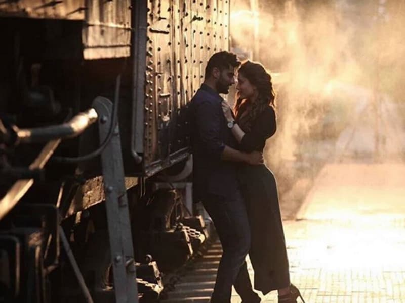The first look of Kareena Kapoor-Arjun Kapoor-starrer Ki and Ka is out and going by it, the film seems to be all about intense romance and mush. A lot of it involving trains.  (instagram)