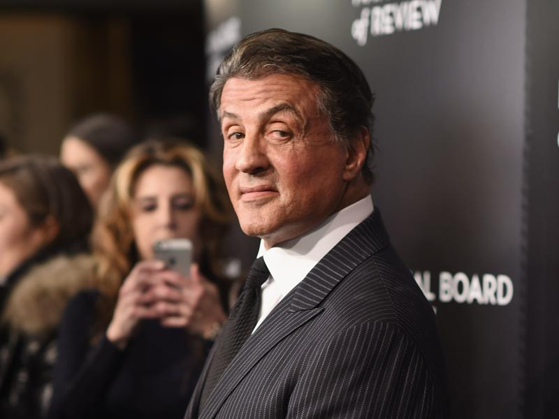 Rocky Balbao himself, actor Sylvester Stallone attends the 2015 National Board of Review Gala in NYC. Stallone reprised his iconic role as the underdog boxer in Creed. (AFP)