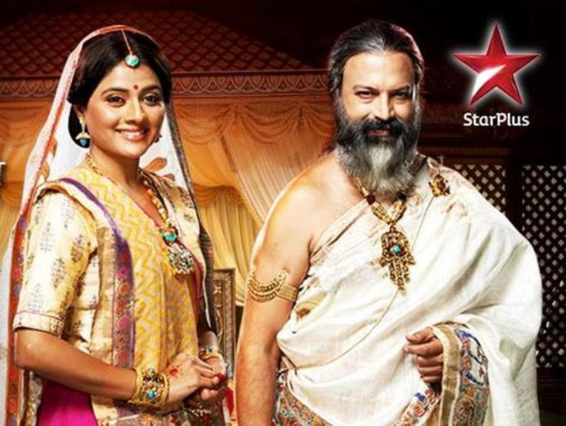 Bhargavi Chirmule and Bijay Anand as Sunaina and Janak. (Star Plus)
