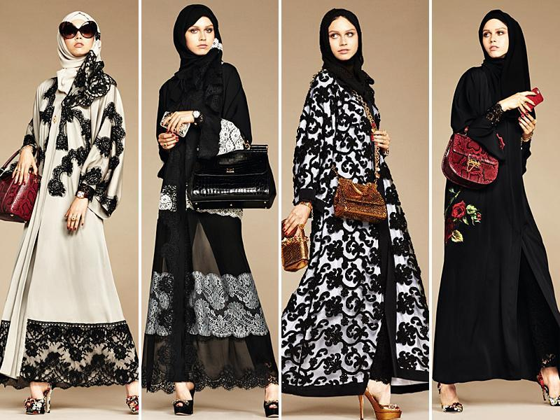 This week, Dolce & Gabbana made its smartest move in years when the Italian fashion house launched its first collection of abayas and hijabs.  (Instagram)