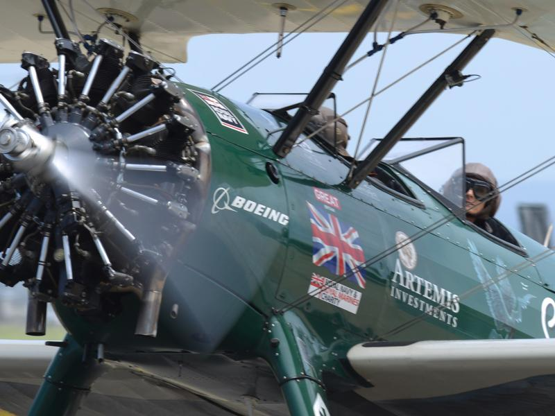 Curtis-Taylor finished her epic solo flight over a three-month period, flying over 23 countries.  Aviatrix Amy Johnson's flight from Britain to Australia in 1930 is hailed as one of the greatest solo flight achievements in history.  (AFP)