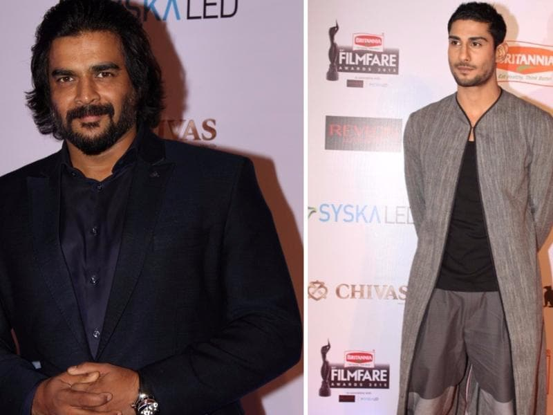 Madhavan and Prateik Babbar too attended the do.  (IANS)