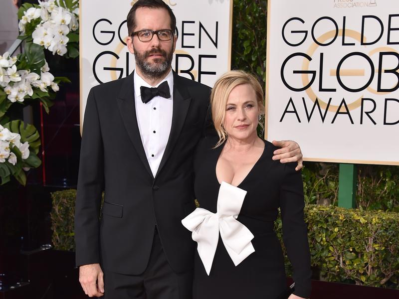 Patricia Arquette had her dress right but then added that giant bow to it. She looks less of a Hollywood star and more of a Christmas gift. (Jordan Strauss/Invision/AP)