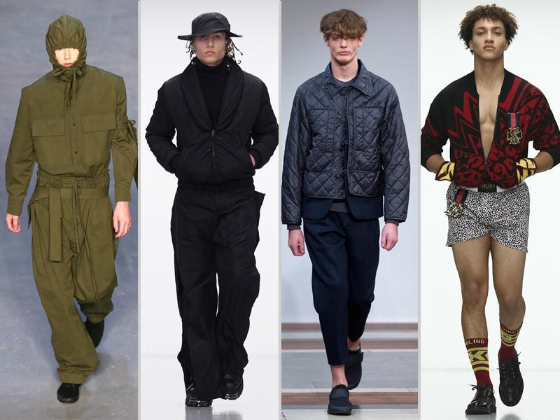 London Collections Men AW16 kicked off January 8 with the Topman Design catwalk show. From the fantasy to the futuristic, taking in both far-flung inspiration and classic style, here's a rundown of the key trends spotted so far at the London-based menswear showcase. (AFP)