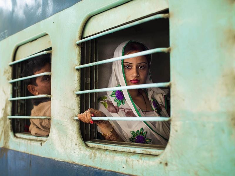 """From a train stop in Jodhpur"" (Photo: Mihaela Noroc)"