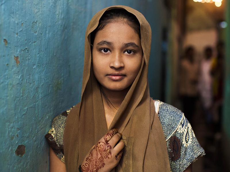 """I met beautiful and amazing people at Dharavi, Mumbai"" (Photo: Mihaela Noroc)"