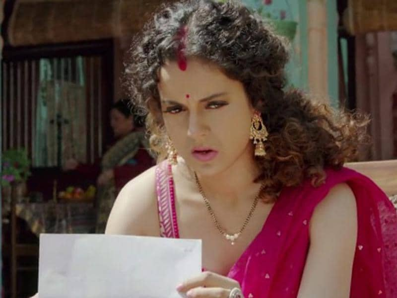 Kangana Ranaut is nominated in Best Actoress category for Tanu Weds Manu Returns.