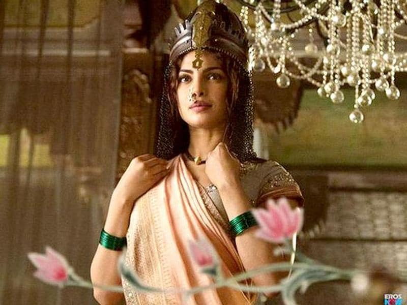 Priyanka Chopra has been nominated in the Best Supporting Actoress category for her performance in Bajirao Mastani.