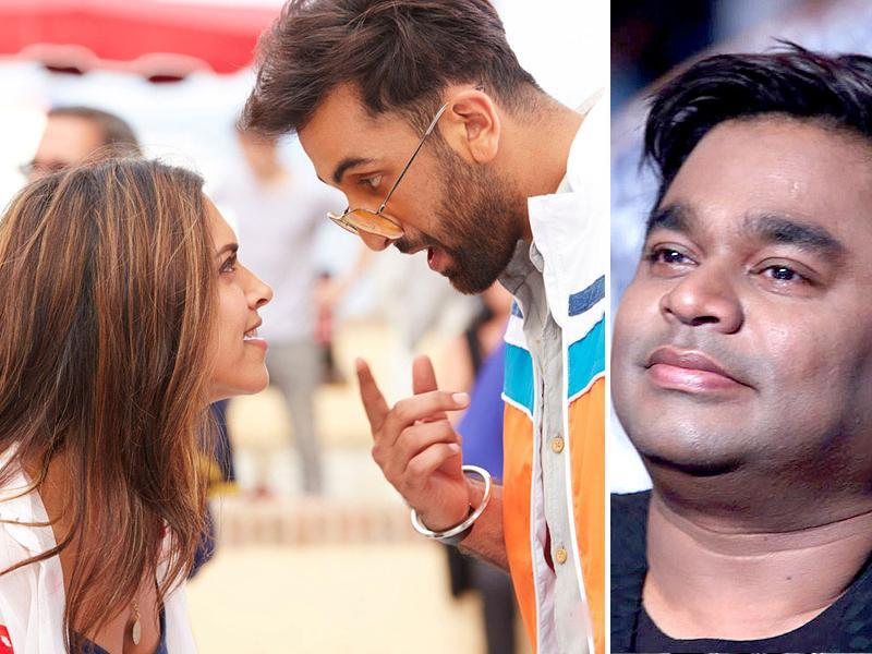 AR Rahman has been nominated in Best Music category for his work in Tamasha.