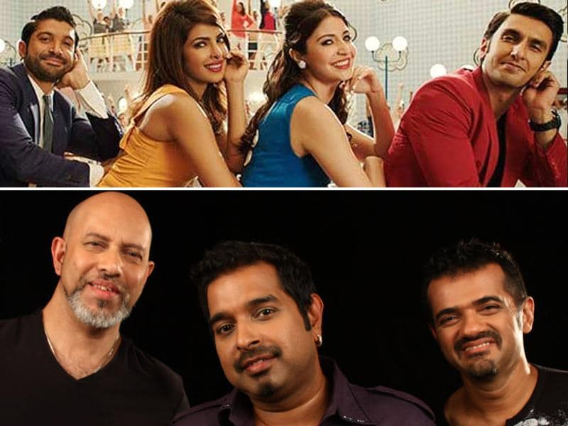 Shankar-Ehsaan-Loy have been nominated in Best Music category for their work in Dil Dhadakne Do.