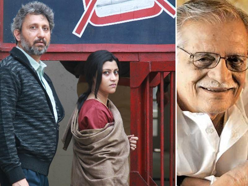 Gulzar is nominated in the Best Lyrics category for Zinda (Talvar).