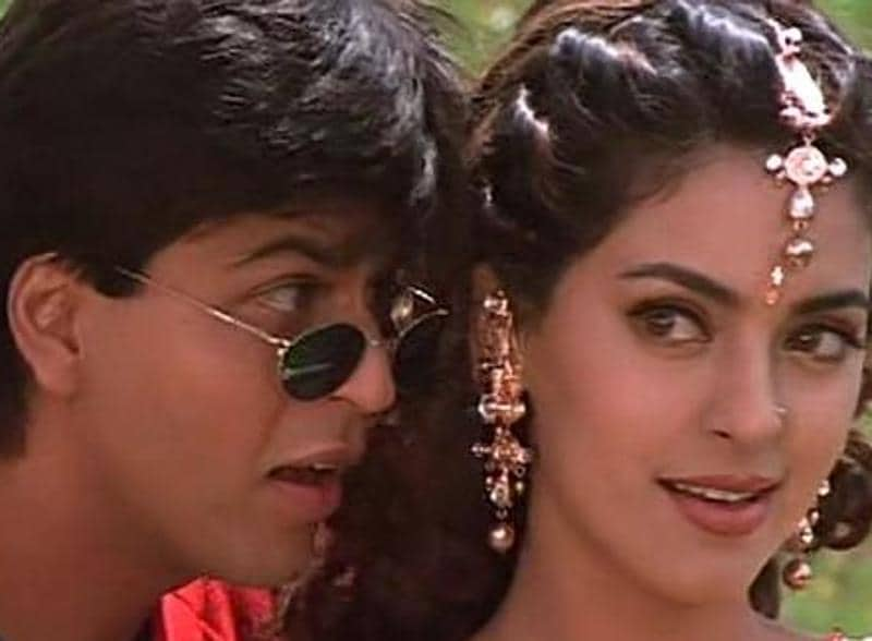 SRK and Juhi Chawla were paied together again in Yes Boss (1997).