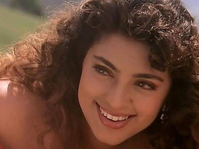 Juhi Chawla worked with Aamir Khan, Kajol and Ajay Devgn in Ishq (1997).