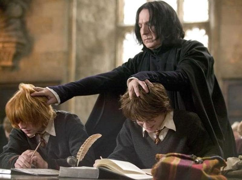 Alan Rickman died on Thursday at the age of 69 and today we remember his best roles through the years. The list cannot begin without mentioning his role as Professor Severus Snape in the Harry Potter franchise. (Warner Bros)