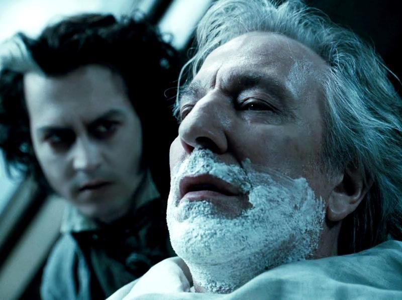 Rickman plays Judge Turpin in Sweeny Todd: The Demon Barber of Fleet Street, the main antagonist of the film which had Johnny Depp in the lead role. (Warner Bros)