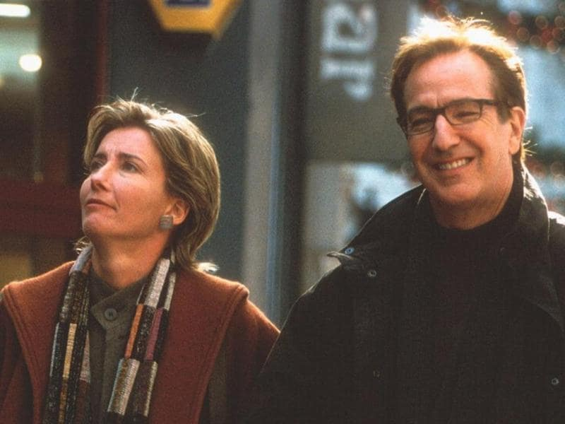 Just thinking about this one bring tears to our eyes. Alan plays a disloyal husband to Emma Thompson in Love, Actually and is perhaps his only negative role where we do want to hate him. (Universal)