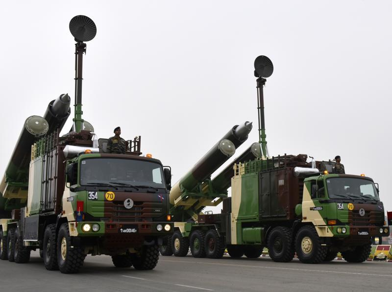 The Agni Ballistic Missile System being displayed during Army Day parade in New Delhi. (Vipin Kumar/ht photo)