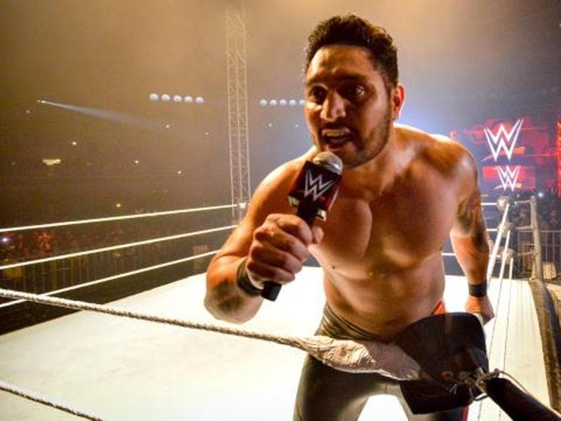 Indian wrestler Kishan Raftar made his debut for WWE. (Photo: wwe.com)