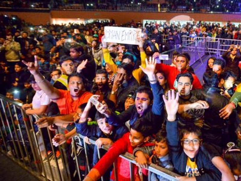 The highlight of the night was the huge crowd who cheered at every move of the WWE superstars. (Photo: WWE.Com)
