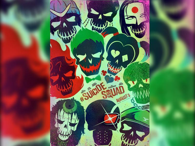 Director David Ayer Tweeted the new poster for the supervillain team up movie Suicide Squad with the caption Worst.Heroes.Ever.  (Twitter)