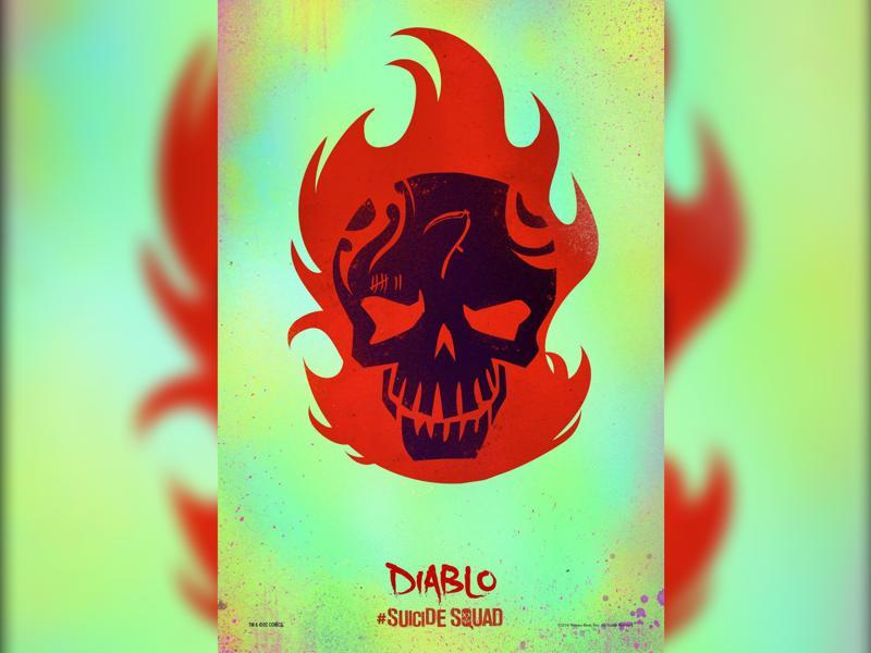 Jay Hernandez will play Diablo, a former LA gang member who can summon flames.