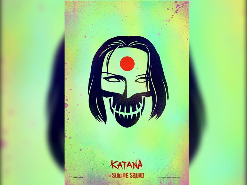 Karen Fukuhara stars as Katana, the expert martial artist and swordsman.