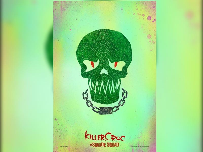 Killer Croc is played by Adewale Akkinouye-Agbaje. He is described as a cannibal with rage issues.
