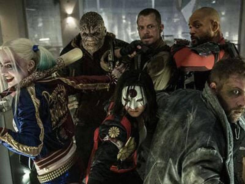 Something wicked this way comes: The Suicide Squad braces itself.