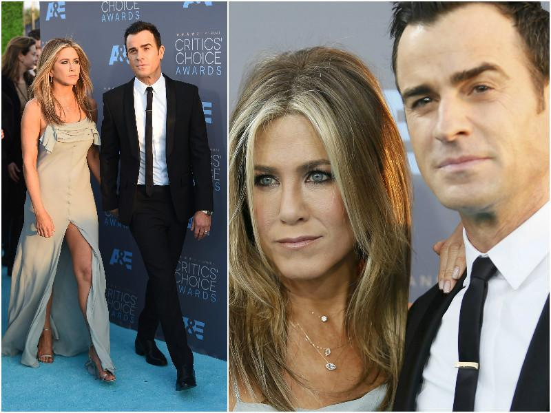 Newly-weds Jennifer Aniston and Justin Theroux putting couples everywhere to shame.