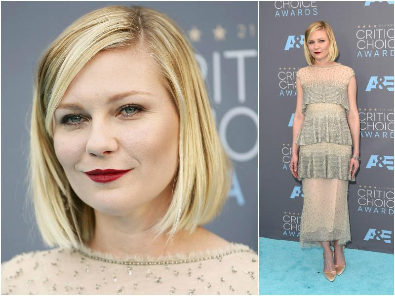 Kirsten Dunst won the award for best actress in a TV series for Fargo.